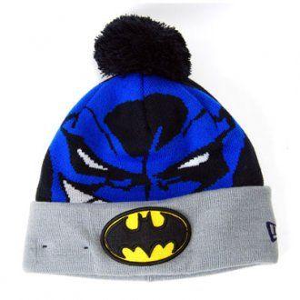 New Era Woven Biggie Batman Hat Black