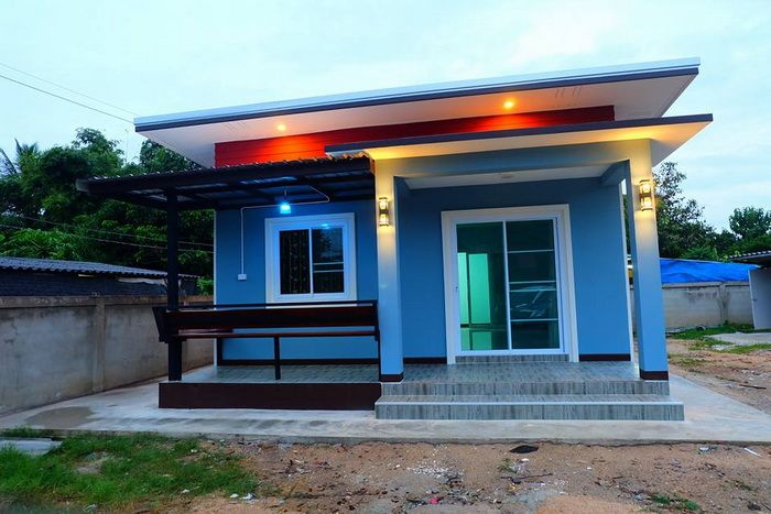 The house consists of 2 bedrooms, 1 bathroom, size 57 sq.m., with a budget of 540,000 baht – MyhomeMyzone.com