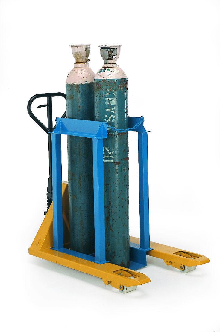 Gas cylinder pallet cages 2 cylinders cylinder pallet