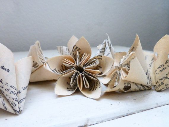 Kusudama flowers for sale origami flowers for crafts dictionary pages flowers for decoration ready to ship handmade paper flowers by SixthandDurianSupply