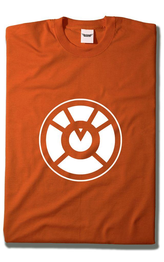 Camiseta Linterna Naranja