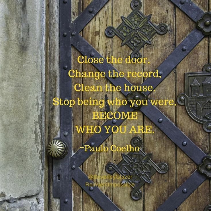 Stop being who you were, become who you ARE! #happiness #inspiration