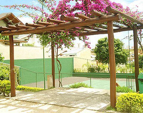 Backyard patio ideas with a pool - Pergolado De Tronco De 193 Rvore Varandas Decoradas Pinterest