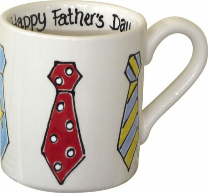 tasse personnalisée, quoi offrir pour le jour du père