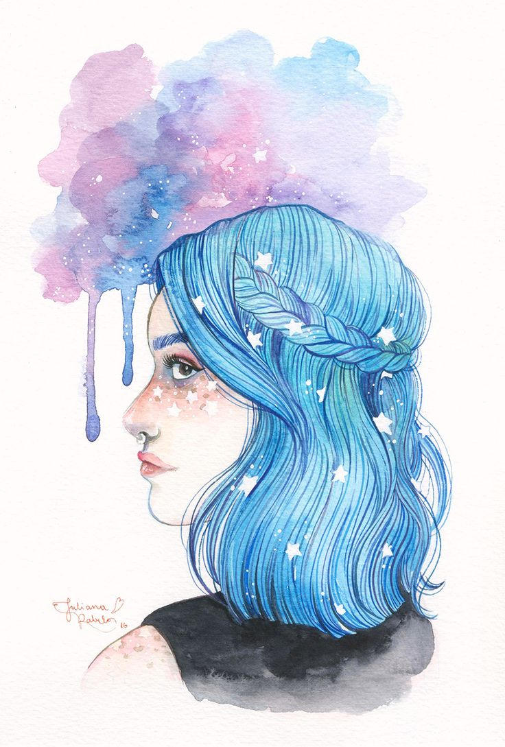 ilustrasunday-89--aquarela-galaxia--juliana-rabelo