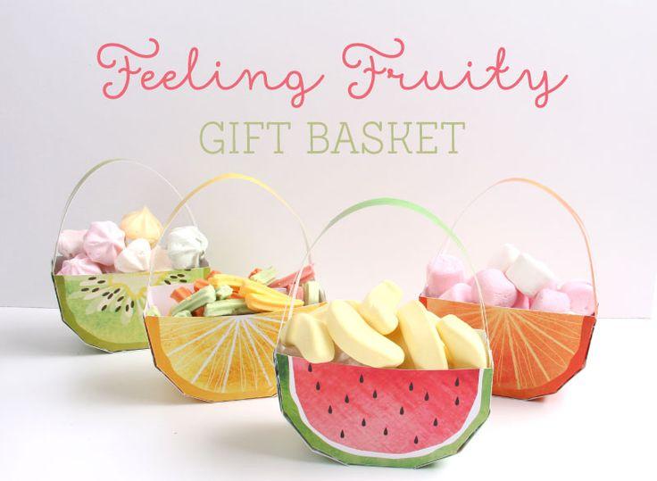 Fruit Gift Baskets FREE Printable