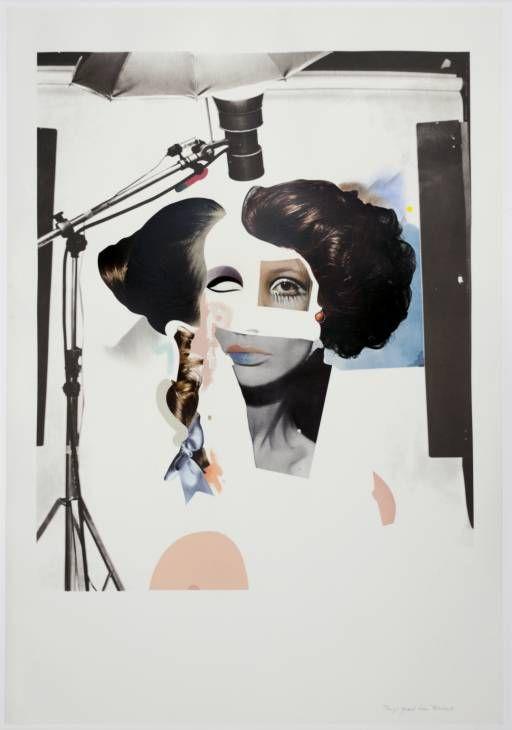 Richard Hamilton 'Fashion-plate', 1969–70 © The estate of Richard Hamilton