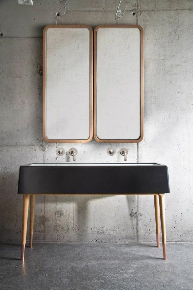 10 Favorites: The Multi-Mirrored Bath: Remodelista