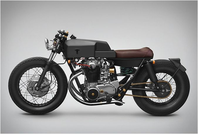 Thrive Motorcycle Yamaha XS650 Custom Bike  http://coolpile.com/rides-magazine/thrive-motorcycle-yamaha-xs650-custom-bike/ via coolpile.com