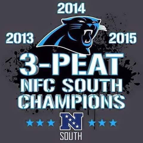 Back to back to back! Carolina Panthers #keeppounding