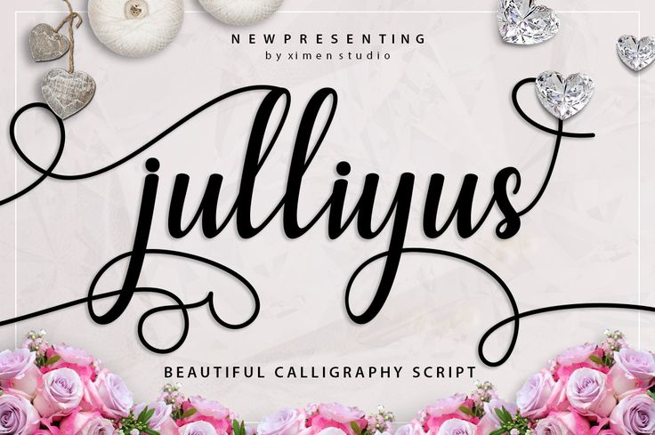 Download the Julliyus Script font and hundreds of other fonts now on Creative Fabrica. Get instant access and start right away.