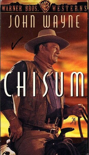 Chisum (VHS, 1997, Warner Bros. Westerns Collection) by usedbutneededagain on Etsy