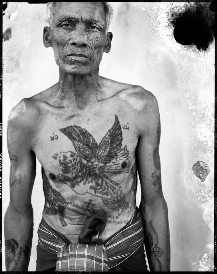 Traditional Khmer tattoos