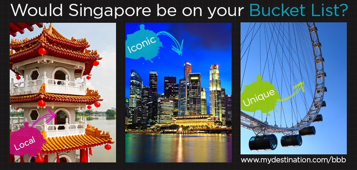 Would Singapore be on your travel bucket list?