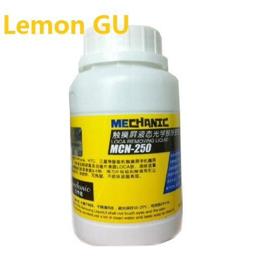 250ml Mechanic MCN-250 LCD uv glue remover for LOCA glue samsung iphone and other screen separator mahine #Affiliate