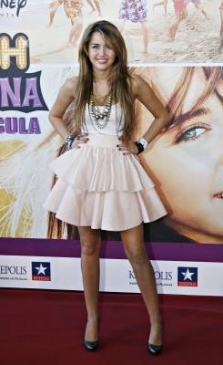 "2009; ""HANNAH MONTANA: THE MOVIE"" MADRID PREMIERE"