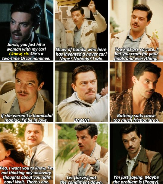 Howard Stark ladies and gentlemen.