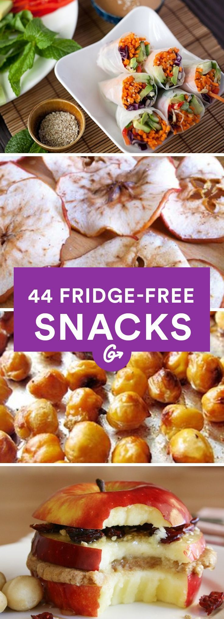 Healthy and Portable Snacks #healthy #snacks http://greatist.com/health/healthy-portable-fridge-free-snacks