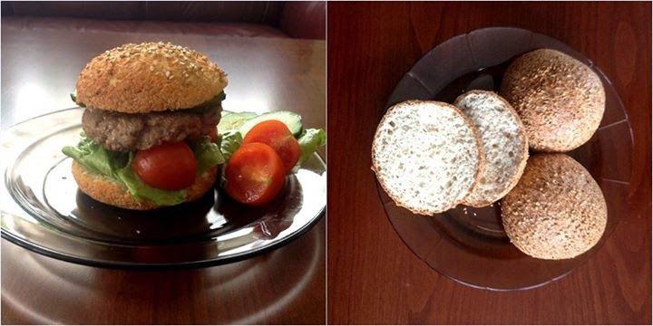 Paleo hamburger zsemle ~ Éhezésmentes Karcsúság Szafival