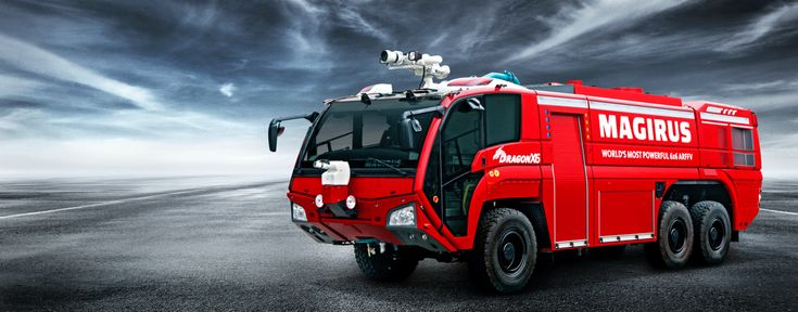 DRAGON X6 Airport Fire Engine | Airport fire engines by Magirus: Magirus Dragon & Magirus Impact