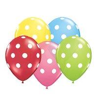 Ballonnen met stippen