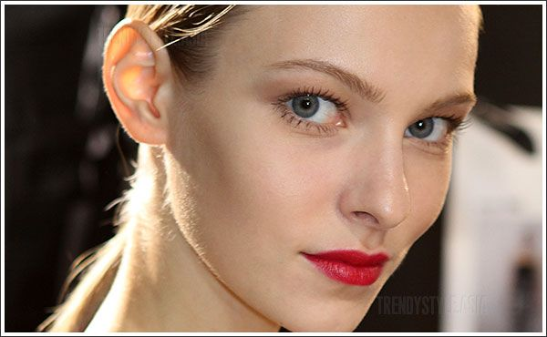 Makeup trends 2014: back to basic, nude makeup trend  (using @rms beauty's Living Luminizer!)