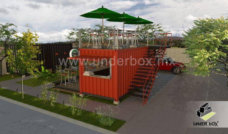 Box 01 – Restaurante / Bar Terraza Superior   Underbox