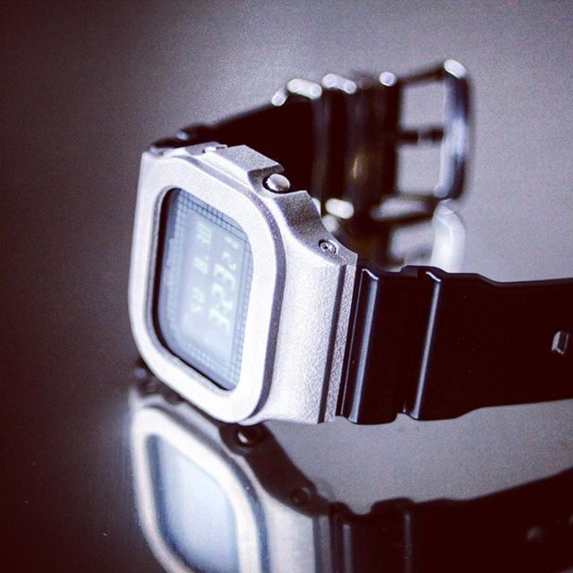 世界初のG-Shock DW/GB-5600用 チタン製ベゼル。9月販売開始予定。 -- G-Shock titanium bezel for G-Shock…