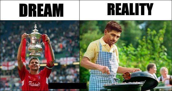 Anglik nigdy nie zdobył Mistrzostwa Premier League • Niespełnione marzenie i rzeczywistość Stevena Gerrarda • Wejdź i zobacz więcej >> #liverpool #gerrard #football #soccer #sports #pilkanozna #funny