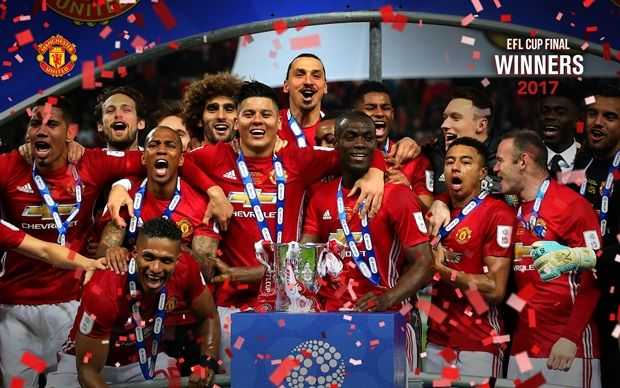 EFL Cup Winners 2016/17 - Official Manchester United Website