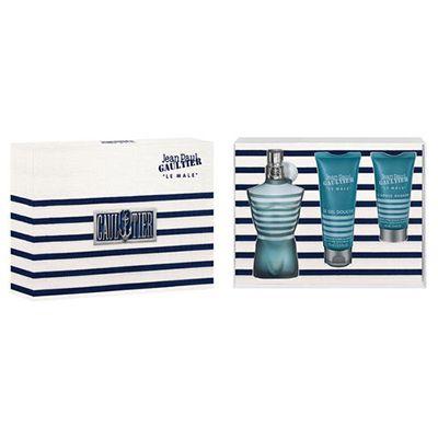 Coffret Le Mâle Eau de Toilette #parfum #jeanpaulgautier  Ce Coffret est composé de : vaporisateur 125ml+ Gel douche 75ml + After shave 50ml