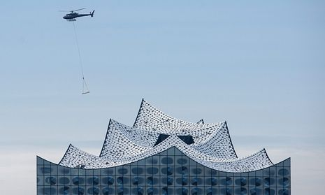 With its hundreds of shimmering blue glass panels, the Elbe Philharmonic Hall is a dramatic addition to the Hamburg skyline. But to many city residents, the structure symbolises political mismanagement on a spectacular scale