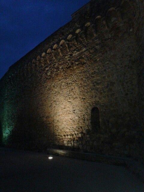 San Quirico d'Orcia  mura