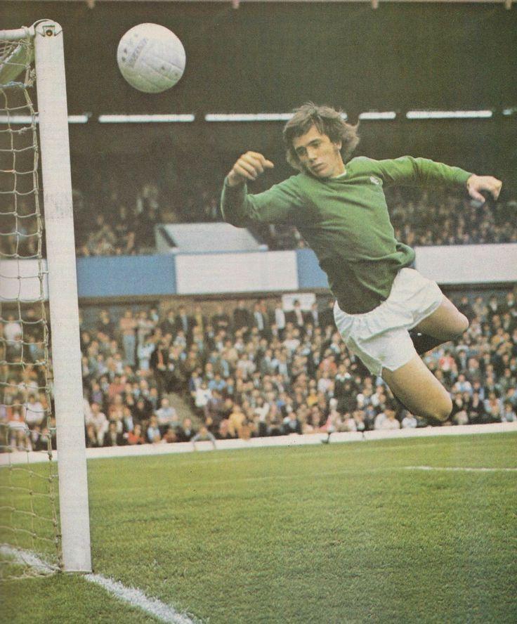 Birmingham City goalkeeper Paul Cooper in 1972.