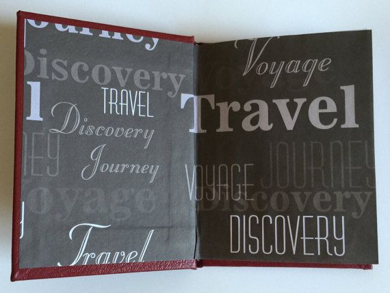 Day 7: Small Travel Journal by BoundedPaper on Etsy