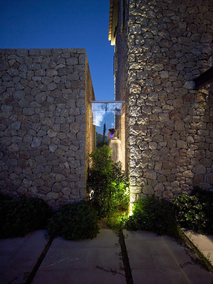Vacation House by Zoumboulakis Architects in Corfu, Greece. Photo by Vangelis Paterakis.