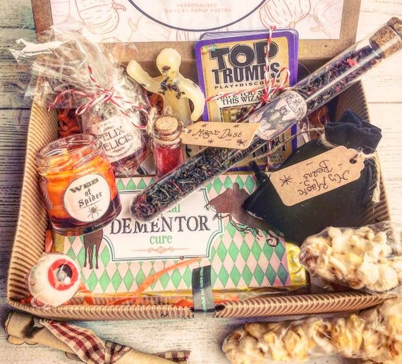 Personalised Witch Wizard Gift Magic Gift Hamper 50th 21st Etsy Harry Potter Gifts Magic Gift Gift Hampers