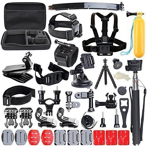 6.Top 10 Best Accessories Kits for Camera and GoPro Reviews in 2016