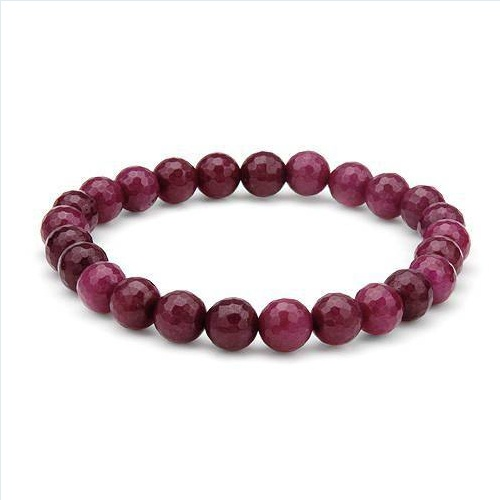Nice Brand New Bracelet With 97.00ctw Genuine Rubies . Total item weight 19.5g  Length 8in - Certificate Available.