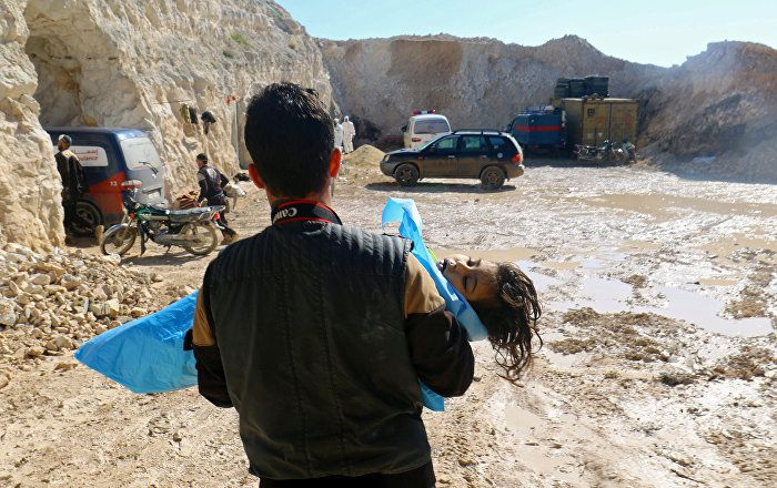 Russland hat der Organisation für das Verbot chemischer Waffen (OPCW) Beweise dafür vorgelegt, dass die angebliche Giftgasattacke in der syrischen Provinz Idlib Anfang April inszeniert wurde. Dies gab der russische OPCW-Botschafter Alexander Schulgin bekannt.