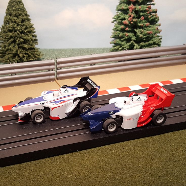 New arrival for sale! Micro Scalextric ... See it here http://www.actionslotracing.co.uk/products/micro-scalextric-pair-of-1-64-cars-f1-formula-one-great-britain-v-france?utm_campaign=social_autopilot&utm_source=pin&utm_medium=pin