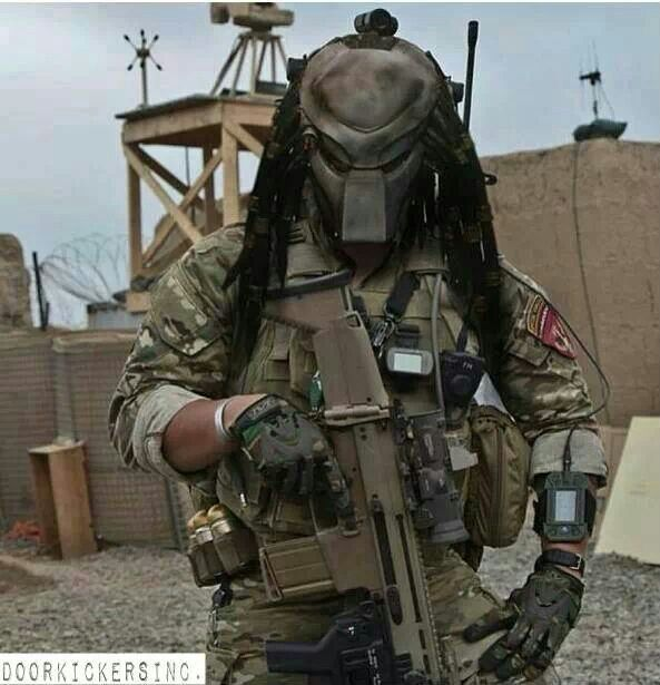 Predator Helmet Gear-up (Courtesy Doorkickers Inc)
