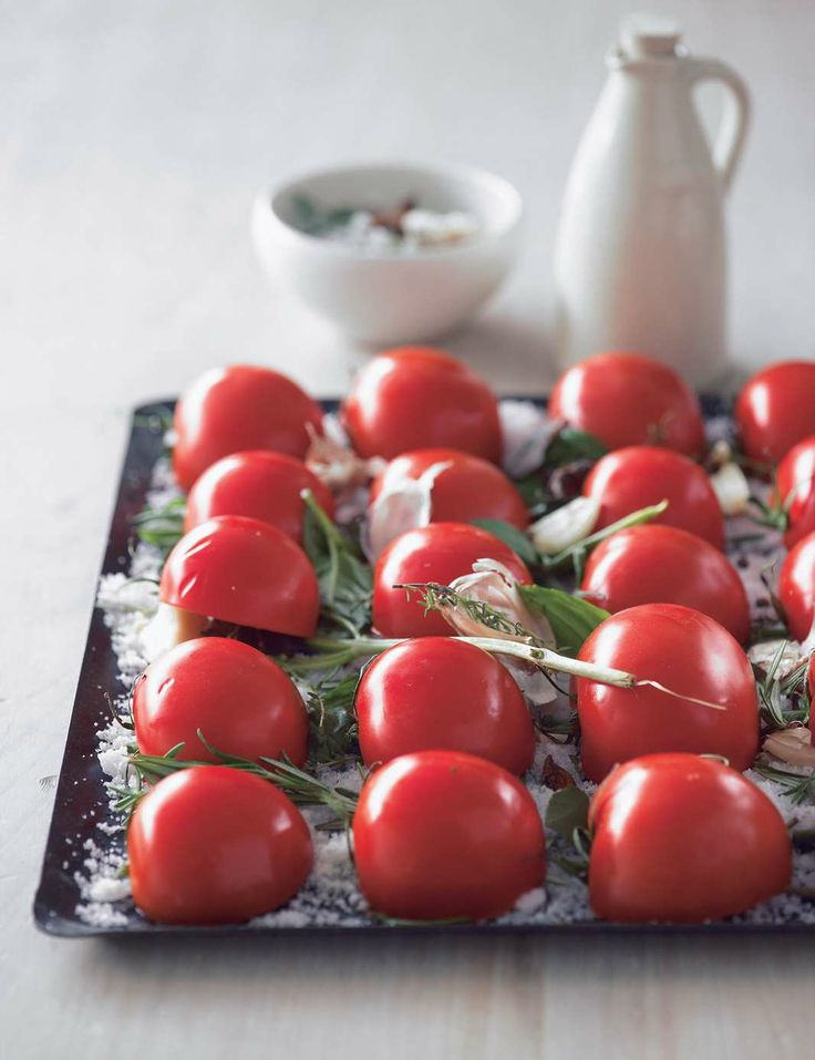 Confit tomatoes by Justin North | Cooked