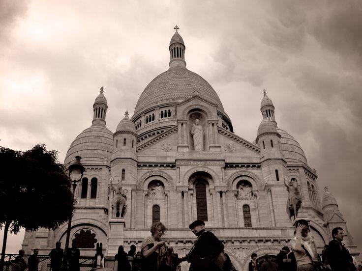 Sacre Coeur, Paris, France