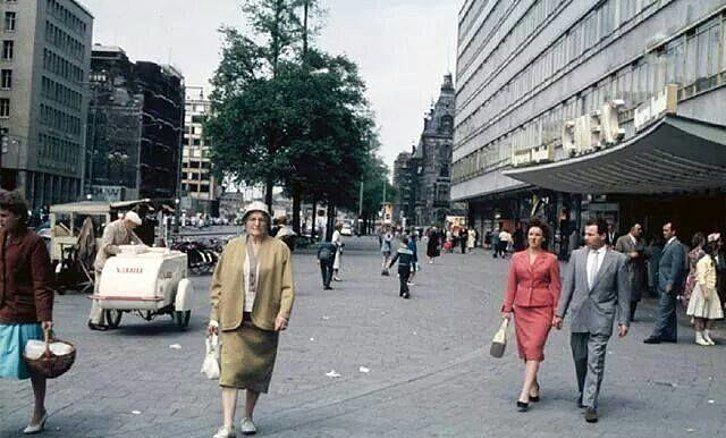 Coolsingel Rotterdam (jaartal: 1950 tot 1960) - Foto's SERC
