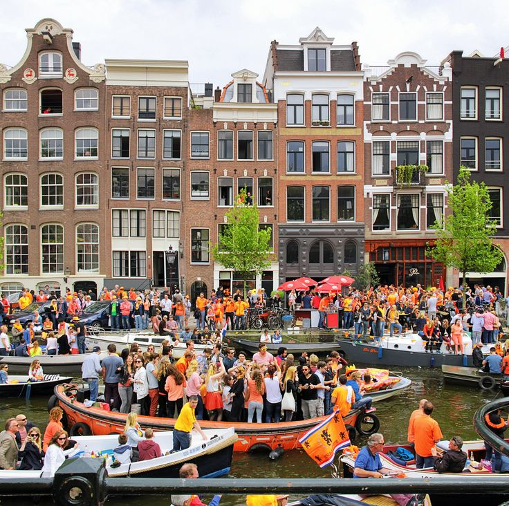 © all rights reserved by B℮n Please take your time... to View it large on black King's Day Dutch: Koningsdag, is the National holiday celebrated with joyful open air festivities on the King's Willem- Alexander birthday, held each year in April in the Netherlands. Queensday Amsterdam Amsterdam celebrations are the biggest and the most attractive. More than million people arrive to the city to celebrate this day. Since 1885, while the Netherlands had through generations only female monarchs…