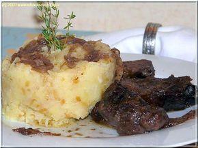 Kančí na česneku s cibulí a lepenicí......... http://mlsnakockablog.cz/kanci-na-cesneku-s-cibuli-a-lepenici/