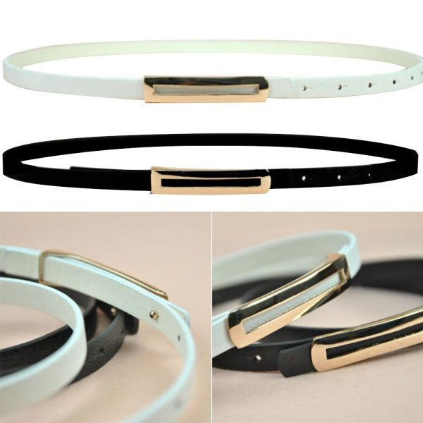 Great item for everybody.   Women PU Leather Skinny Narrow Thin Buckle Waist Belt Adjustable Waistband Strap - US $1.43 http://prowomenshop.com/products/women-pu-leather-skinny-narrow-thin-buckle-waist-belt-adjustable-waistband-strap/