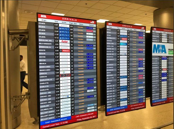 Hurricane Irma: Florida Airports Halt Flights.