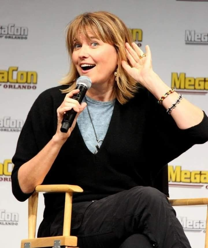 Lucy Lawless at MegaCon Convention in Orlando May 27,2018